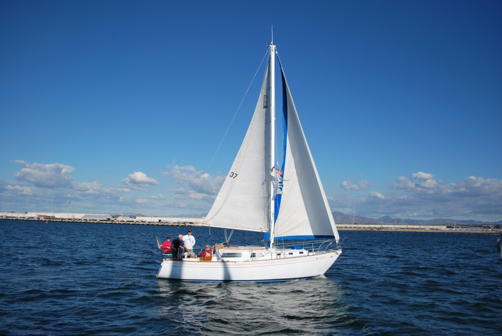 Sailing with JAYGAR