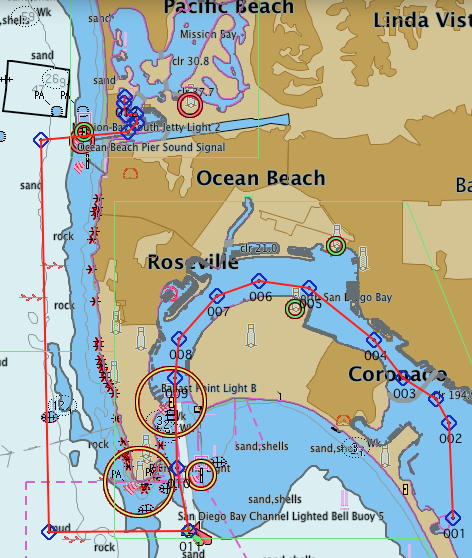 Mission Bay cruise planning overview