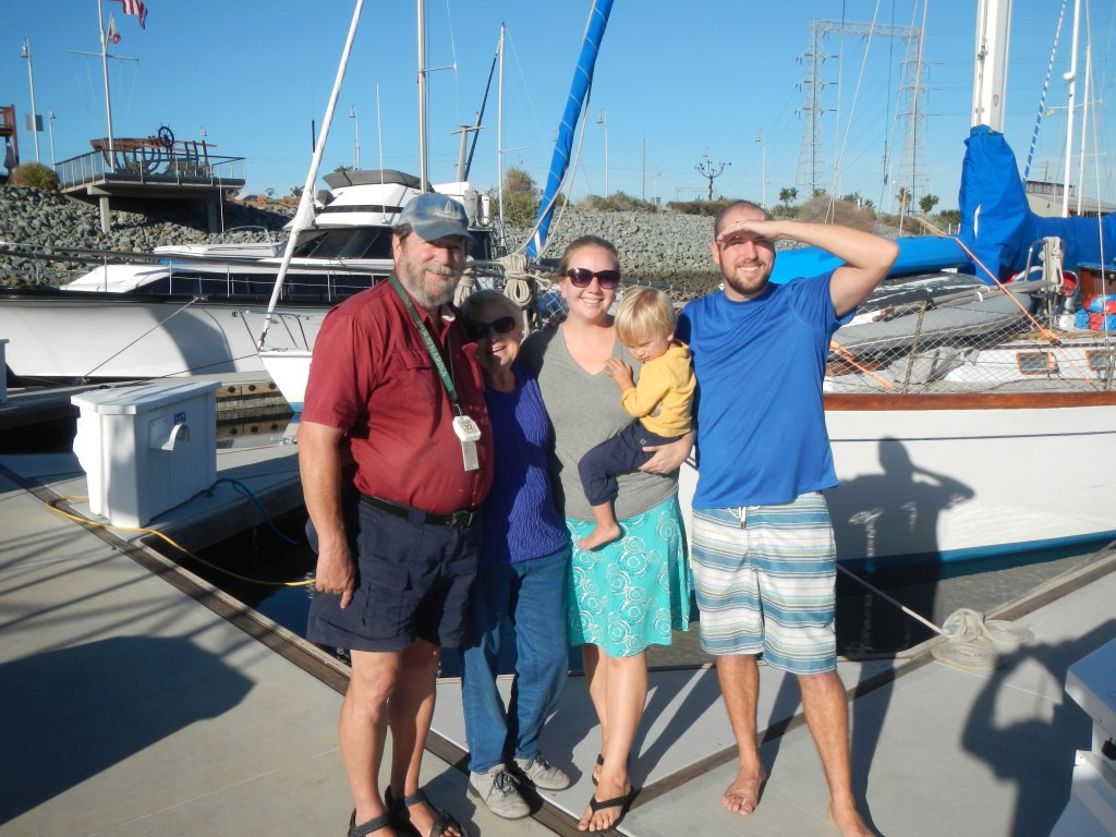 WIth Steve and Carol from S/V Dream Catcher