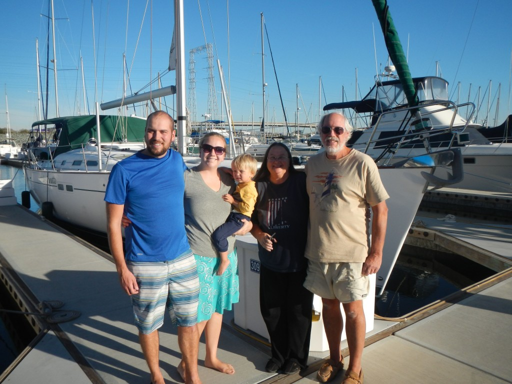 With Jan and Chuck from S/V WInd Watcher
