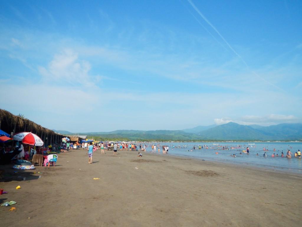 The beach at Ensenada de Matanchen