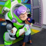 So happy to meet Buzz Lightyear