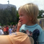 Watching the Festival of Fantasy Parade