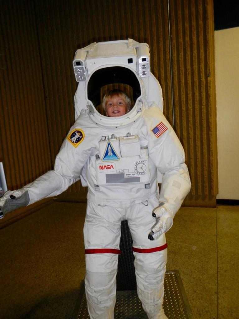Astronaut Sully!