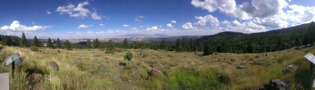 A beautiful panoramic viewpoint