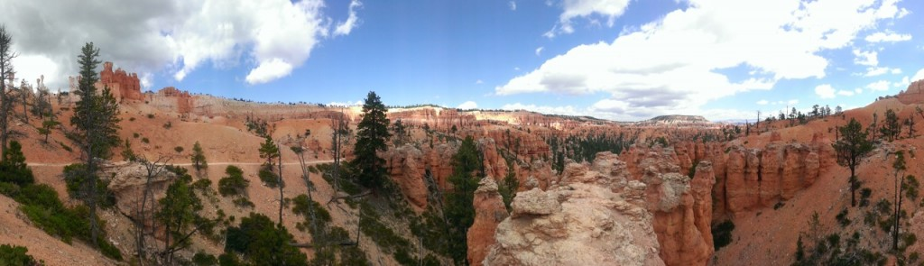 Panorama of the beautiful view