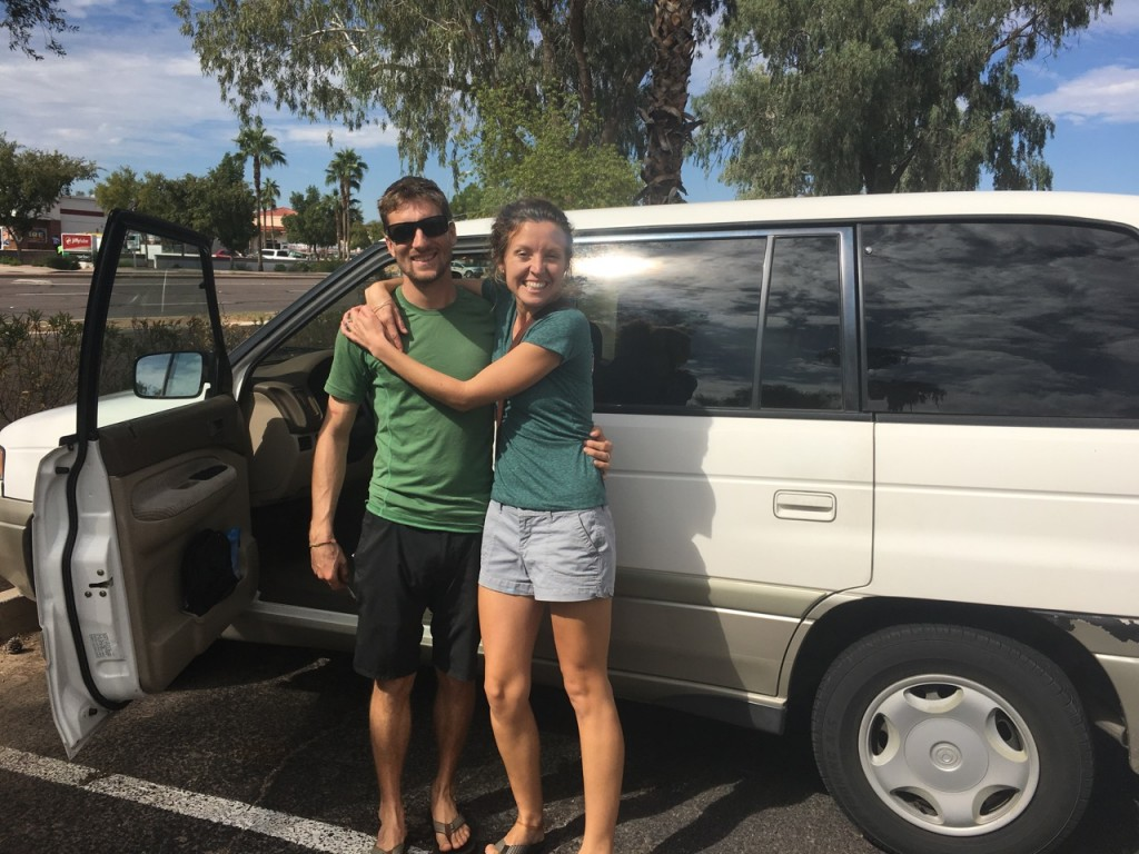 We visited our cruising buddies Eric and Jaime in Phoenix. They're off S/V Coconutz for now refilling the cruising kitty.