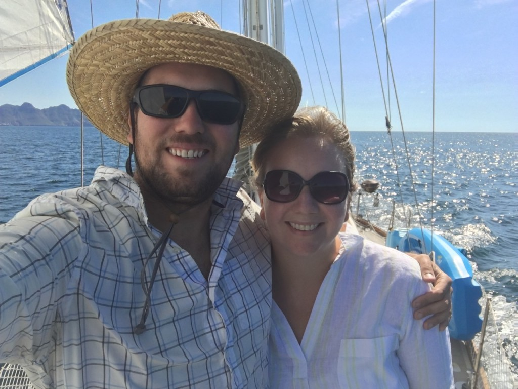 We're happy to be sailing again